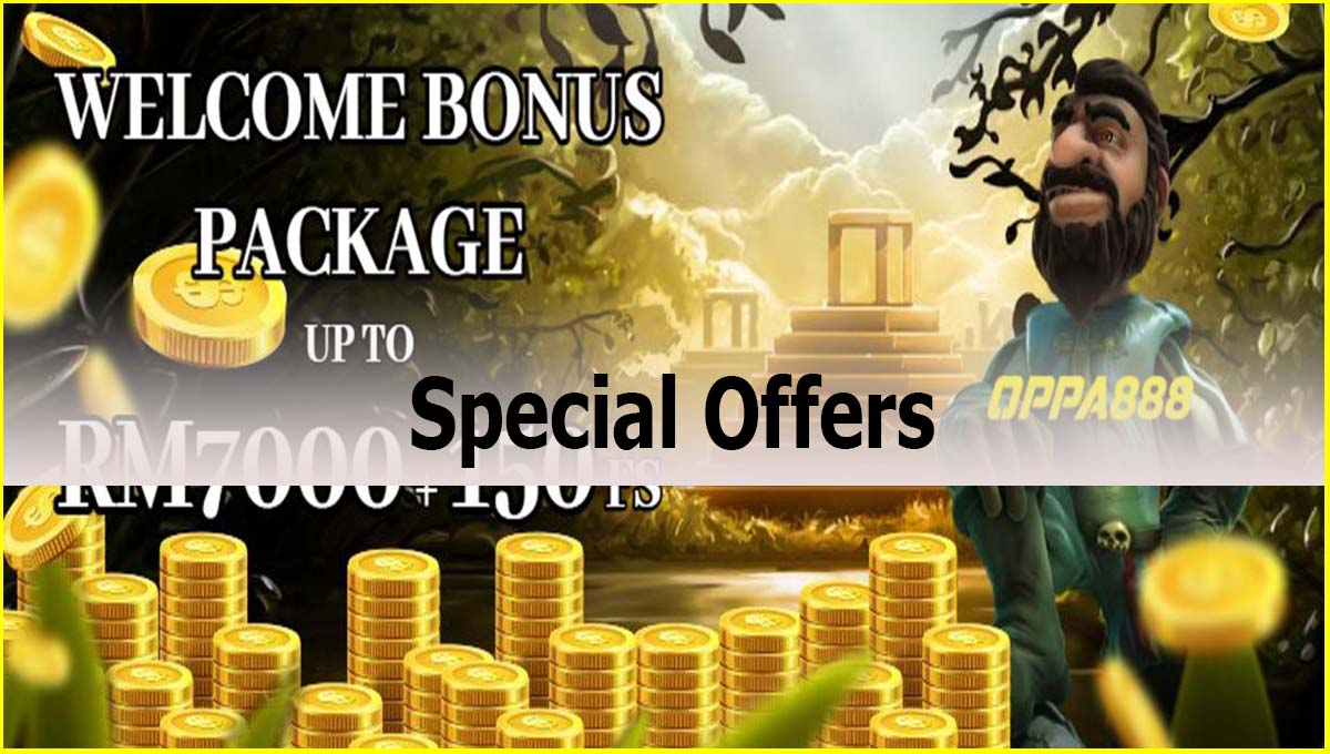 Oppa888 Special Offers
